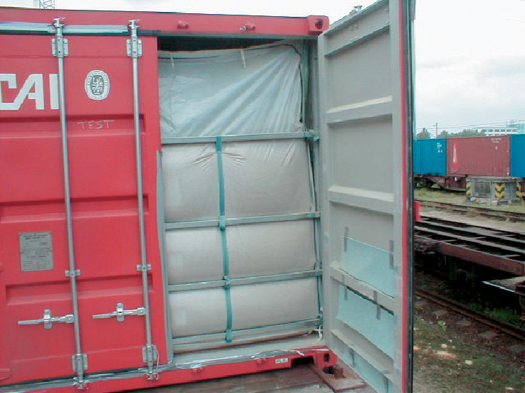 Container inlets